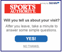 Sports Authority Abandonment Invitation