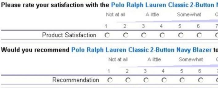 Survey example