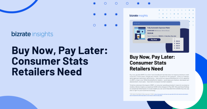 buy now pay later ecommerce infographic hero image